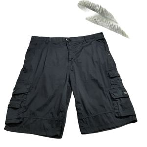 *I Jeans By Buffalo Black Cargo Men's Shorts 40